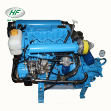 HF-480H 4-cylinder 37hp small electric boat engine