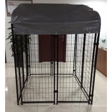 American hot sale welded wire mesh outdoor dog kennel / out door dog house