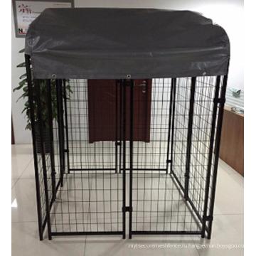Американский горячие продажа Сварной проволоки сетки открытый собака питомник / собака дом дверь