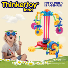 DIY Plastic Education Toy for Children Plastic Building Blocks