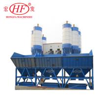 Mobile concrete machine cement mixing machine concrete mixing station mobile concrete batching plant(HZS35)