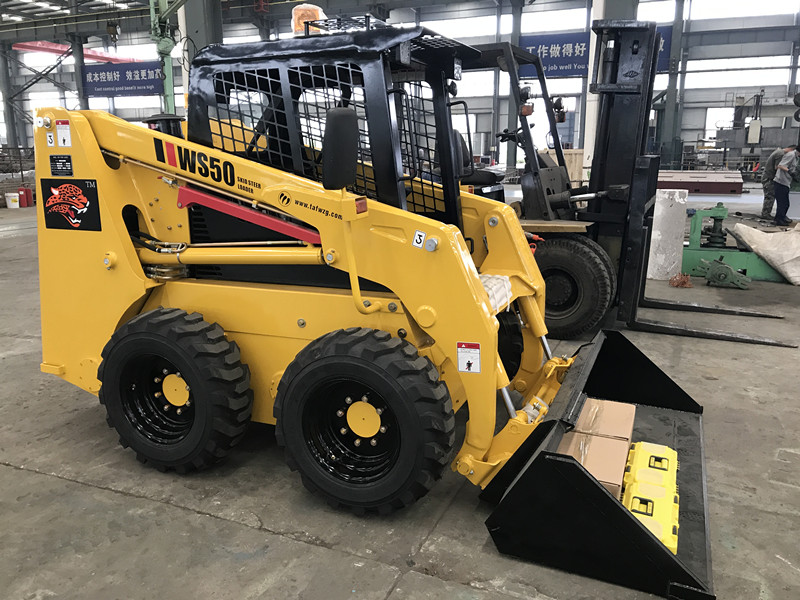 750kg Mini Skid Steer Loader للبيع