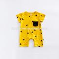 Wholesale Baby Clothes Organic Cotton Baby Romper Onesie