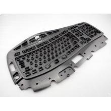 Moulage par injection en plastique d'accessoires informatiques pour le boîtier supérieur de clavier