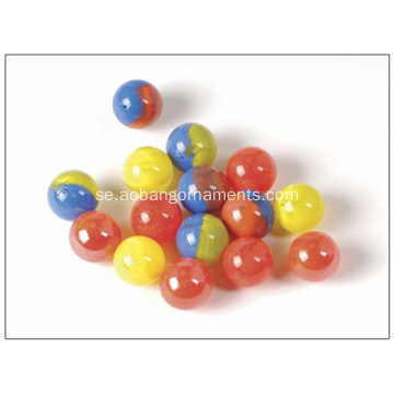 Grossist Glass Marbles Factory Spelar Glas Marmor