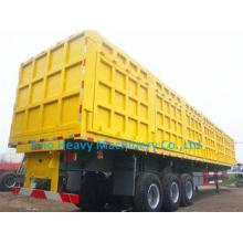 Container Cargo Lorry Trailer , 3 Axle Semi Trailer Trucks