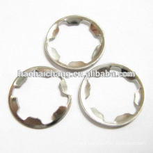 Mini stamping parts metal lock washer For electrical thermostat incubator
