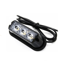 3W LED mini luz estroboscópica LED luz estroboscópica de advertencia parrilla