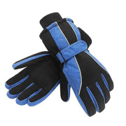 Insulation unisex coated velcro wrist band working glove