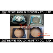 Injection plastic automotive radiator fan shroud mould