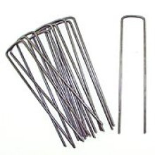 "Landscape Staples Fabric Weed SOD Pins Stakes-1000PCS-6"" X 1"", Wholesales, Retail"