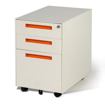 Качественный картотечный шкаф с 3 ящиками на колесах