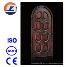 Hochwertige Elegant Exterior Interior Meranti Solide Holztür