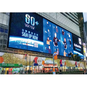 Fasta Liten Pitch Outdoor Billboard LED Display