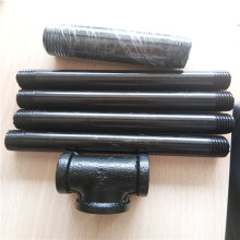 "black steel plumbing pipes (1/2 "") (3/4"")"