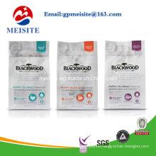 Custom Printed Mylar Plastic Bags / Food Packaging Bag Sample Sachet