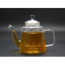 Glass Tea Pot/Teapot with Stainless Steel or Glass Infuser on Sale