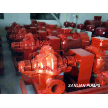 Fire Centrifugal Duoble Suction Water Pump for Sale
