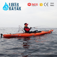 Hot 4.3meter LLDPE/HDPE Single Sit on Top Kayak