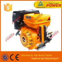 motor a gasolina 9HP tenglong, partida elétrica do motor