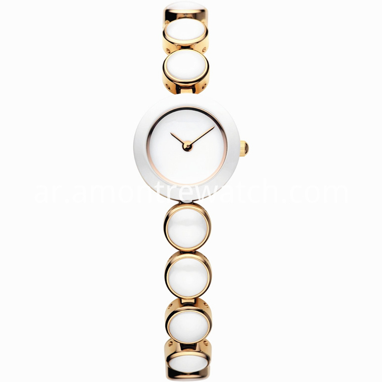 white lady watch