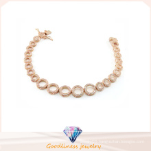 Wholesale Jewelry Woman′s Fashion AAA CZ 925 Silver Bracelet (BT6599)