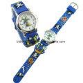Продвижение аналогового дети мультфильм часы для подарка