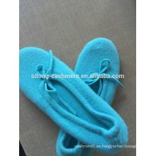 Zapatos de ballet de cachemira, Zapatilla de ballet de cachemira