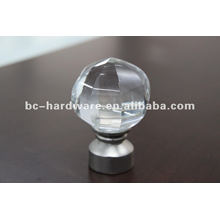 crystal glass finial