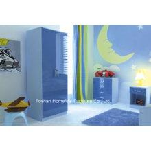 Ottawa Blue High Gloss 3 Piece Conjunto de móveis para crianças