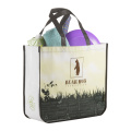 Green hand covered non woven bags
