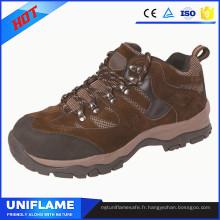 Souliers en caoutchouc de sécurité de chaussure d'embout d'acier élégants occasionnels Ufa093