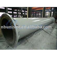 (Edificio del envío) tubo de acero estructural (con las bridas) (USB-2-017)