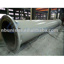 (shipping building) structural steel pipe (with flanges)(USB-2-017)