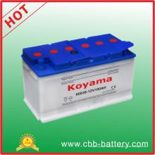 Batterie de voiture de batterie automatique sèche-chargée DIN 60038
