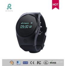 Rastreamento portátil de GPS com relógio de pulso