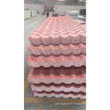 Tuile de toit en résine synthétique de style espagnol pour villa