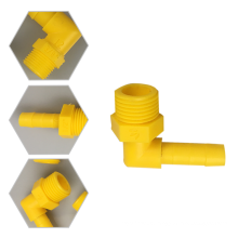 Manufacturer cheap external thread connector mold and parts