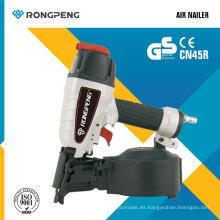 Rongpeng Cn45rn Nailer de la paleta de la bobina