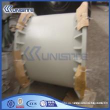 Tubo cuadrado personalizado de alta calidad con o sin bridas (USB2-059)
