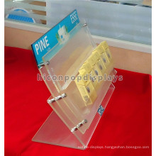 Creative Tobacco Retail Shop Custom Stylish Acrylic Countertop Cigartte Display Units For Sale