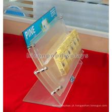 Creative Tobacco Retail Shop Custom Stylish Acrylic Countertop Cigartte Unidades de exibição para venda