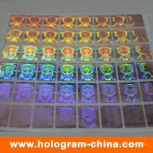 Etiquette Holographique DOT Matrix personnalisée