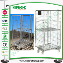 Wheeled Shopping Cart Small Laundry Cart Hanger