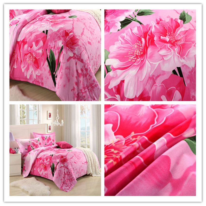 Cotton Bedsheet Sets Printed Cotton Fabric