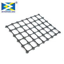 Plastic geogrid Biaxial  Geogrid manufacturer plastic dual-axis geogrid