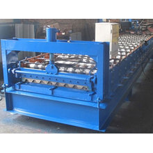 Cubierta de piso de pista de metal que forma la máquina