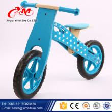 2017 hot sale crianças de bicicleta de madeira / bicicleta de balanço de madeira popular / nova moda bicicleta de madeira crianças equilíbrio de Yimei