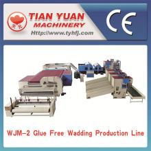 Производство высокое качество дешевые вата производственной линии (WJM-2)