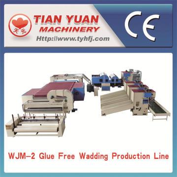 Baumwollwatte Produktionslinie für Matratze